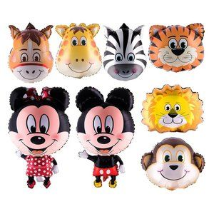 Animal balloons for zoo or circus theme party